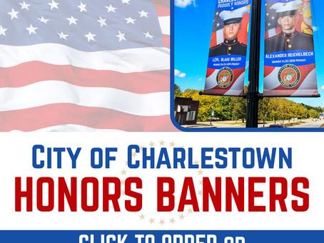 Charlestown Honors: Armed Forces Banner Program Returns