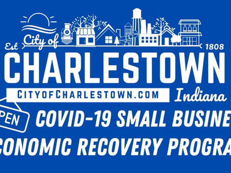 City of Charlestown receives $250,000 award for COVID-19 small business economic recovery program