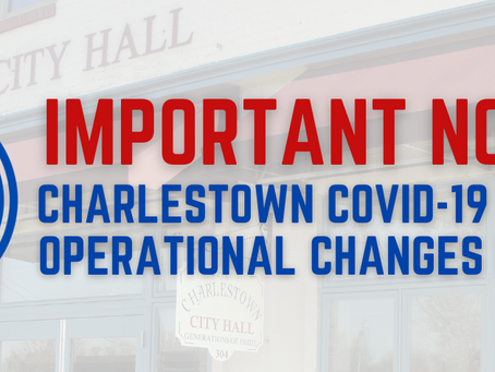 COVID-19 City Hall Operational Changes in Place Until Further Notice
