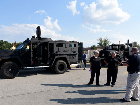 Charlestown police and community come together for National Night Out