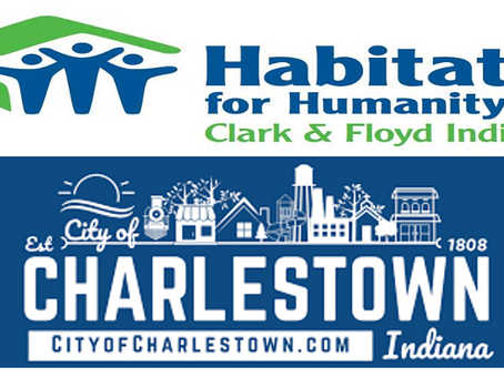 City of Charlestown Deeds Property for Habitat for Humanity Clark & Floyd Indiana House