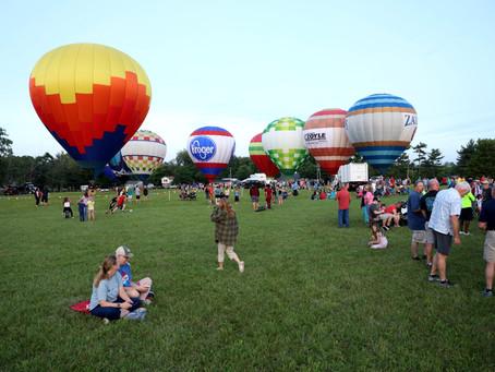Founders Week Highlights: Balloon Glow & Concert