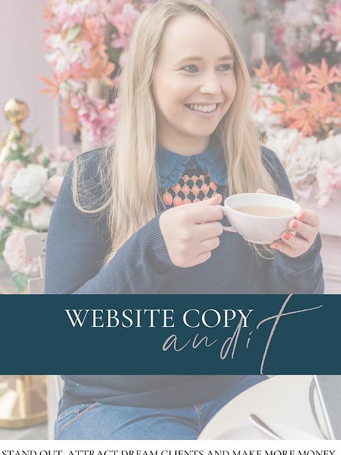 Website Copy Audit