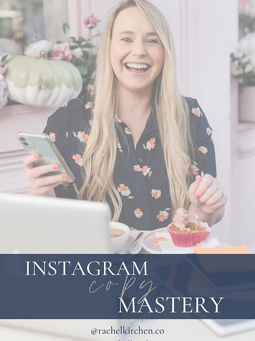 Instagram Copy Mastery