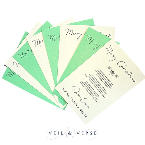 Poetry Christmas Card Packs
