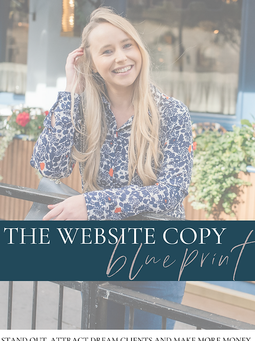 The Website Copy Blueprint
