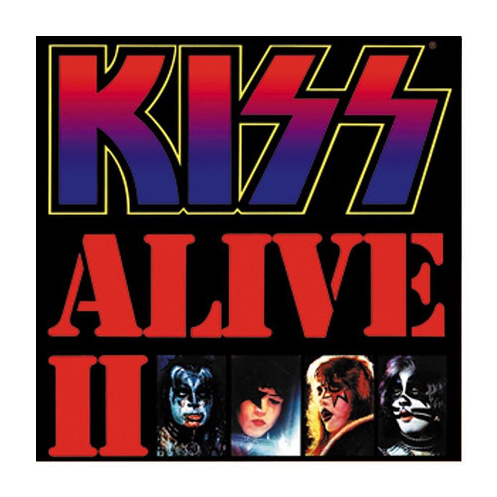 kiss alive II album cover