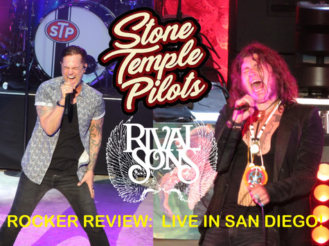Rival Sons/Stone Temple Pilots Rock San Diego!