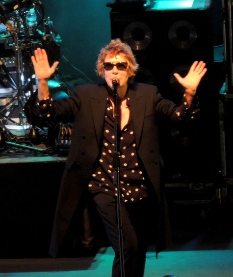 The Greek crowd goes Psycho for The Psychedelic Furs!