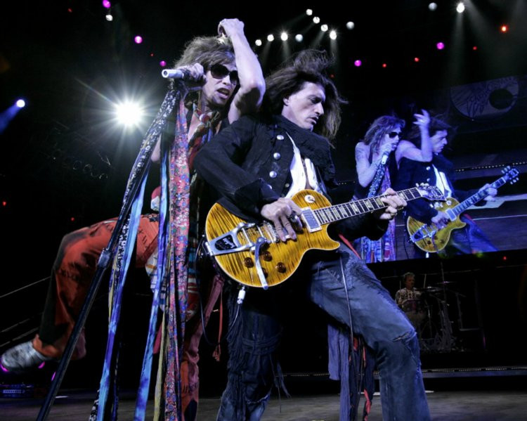 The Toxic Twins Steven Tyler and Joe Perry
