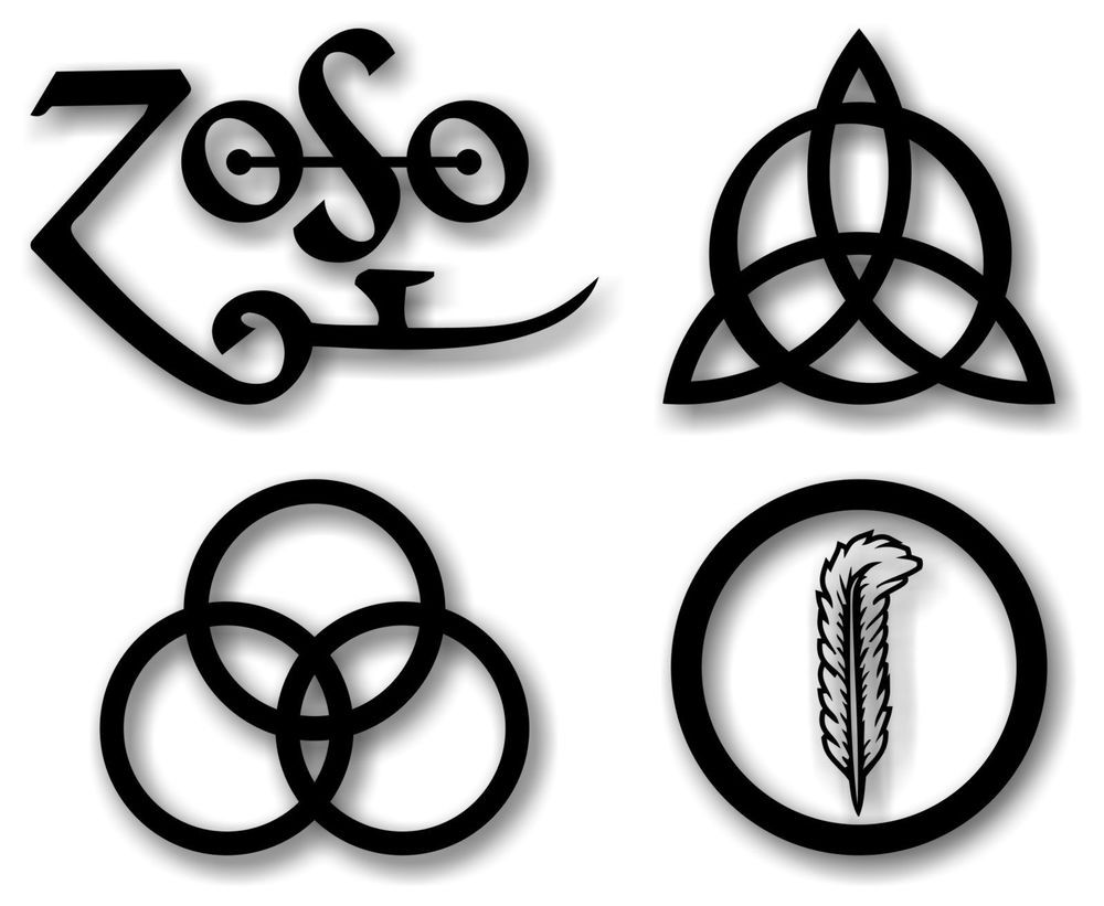 The Four Symbols of Led Zeppelin
