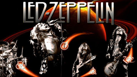 Top 100 Hard Rock Groups #1 Led Zeppelin