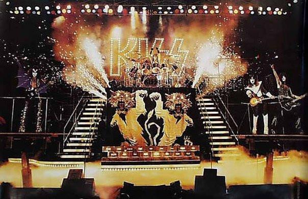 Kiss Alive II gatefold