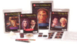 ben nye cool lion kit vampire ki 3d effects kit old age kit makeup