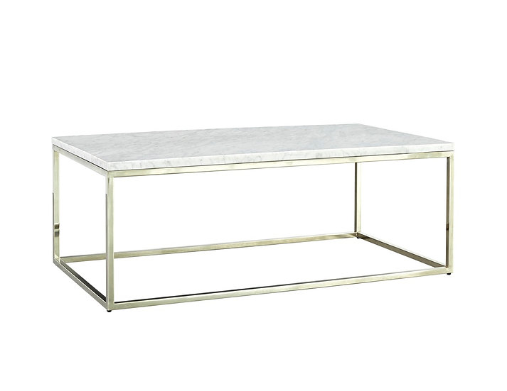 Julien - Marble & Chrome Coffee Table