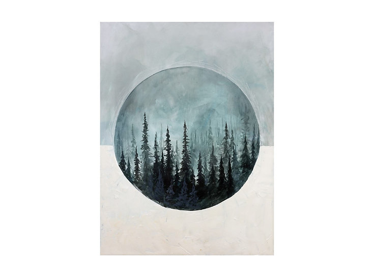 Above the Forest - Wall Art