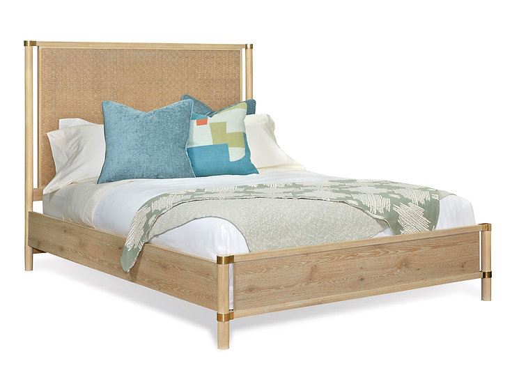 Shore - Tall Panel Bed
