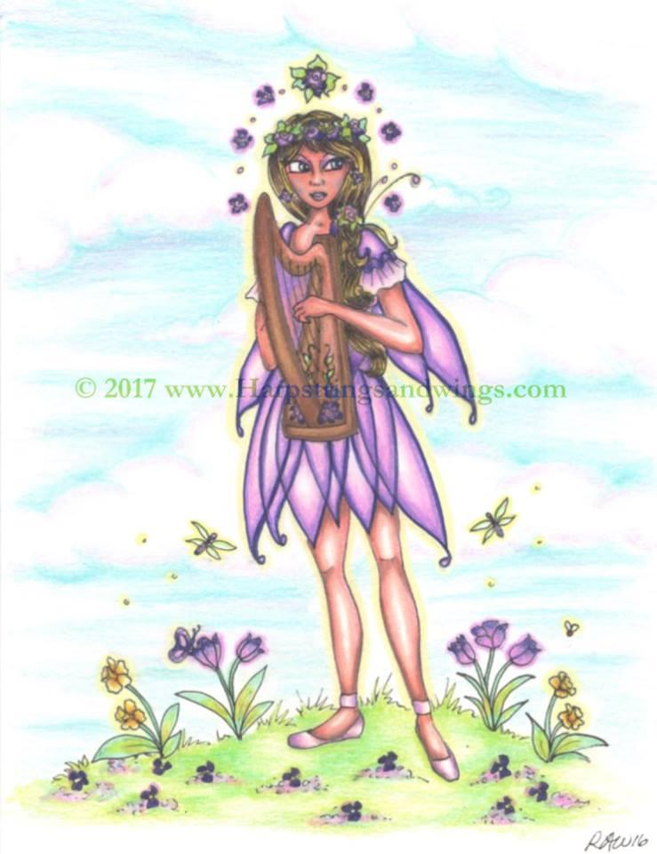 Spring Fairy (in progress)
