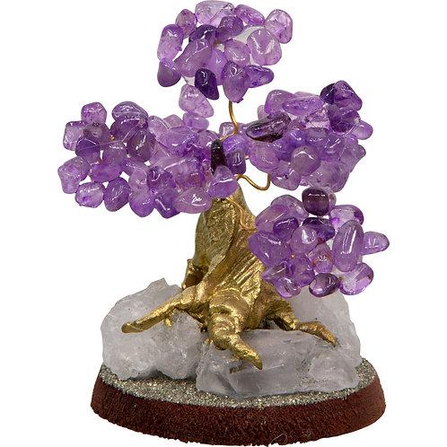 Bonsai Gemstone Wishing Tree - Amethyst