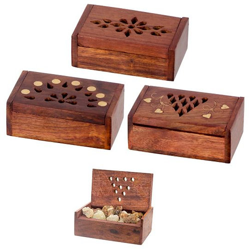Treasure Box, Jewelry Box, Three Different Kinds 3 4 1 Price, Wood & Brass, Gift