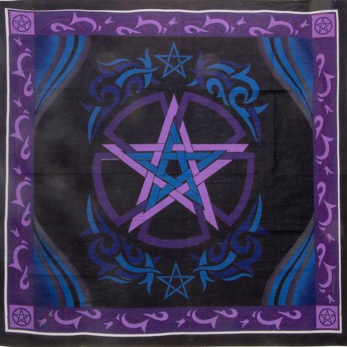 Large Altar Cloth - Pentagram with Celtic trim