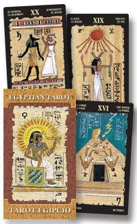 Tarot Cards, Egyptian, Silvana Alasia, Lo Scarabeo, 78 Cards