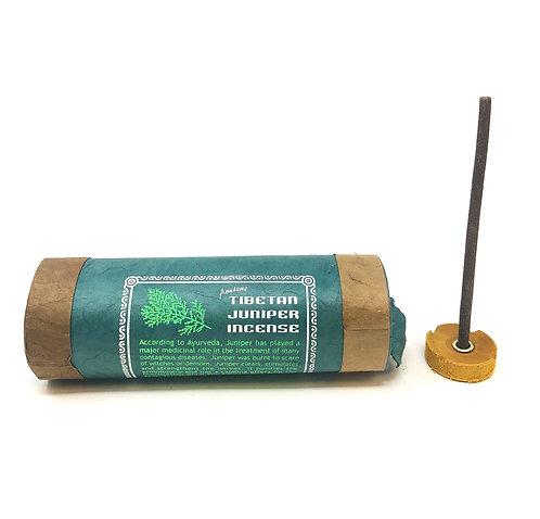 Juniper Incense, Tibetan, 4 inch sticks, 30 per pack