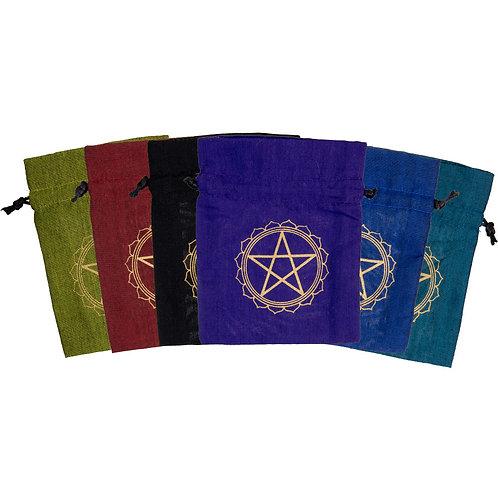 Rainbow Pentacle Spell Bags
