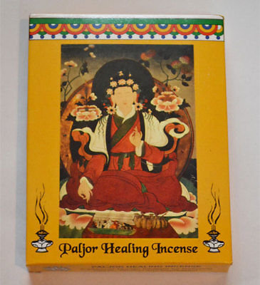 Incense, Paljor Healing, Box of 5, Genuine Tibetan & Nepal, #incense, #salew