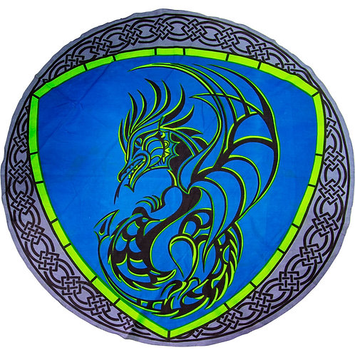 LG Cotton Round Tapestry/Alter Cloth - Dragon with Celtic border