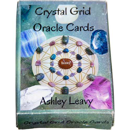 Crystal Grid Oracle Cards - 48 cards