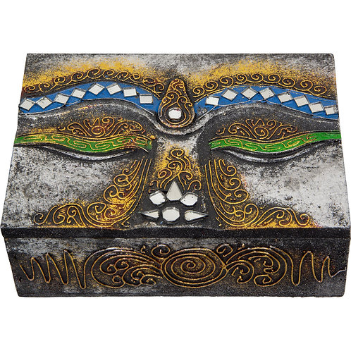 Buddha Face Treasure Box