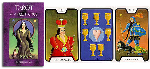 Tarot Cards, Witches Deck, Surrealist, Fergus Hall, James Bond, Limited Sets