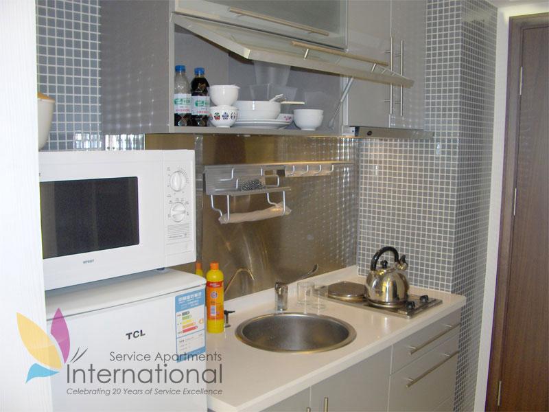 高级商务房厨房
