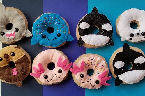 Aquatic Animal Donut Plush