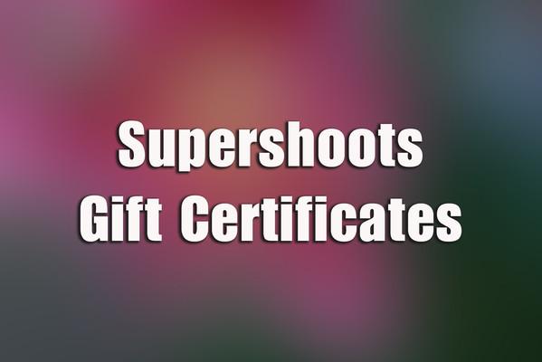 Supershoots Gift Certificates