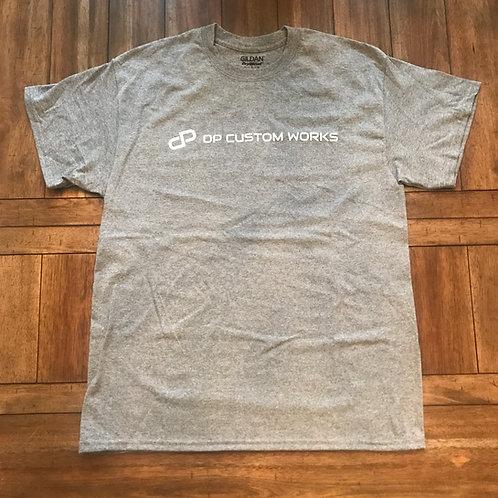 DP Grey T-shirt - DP Custom Works