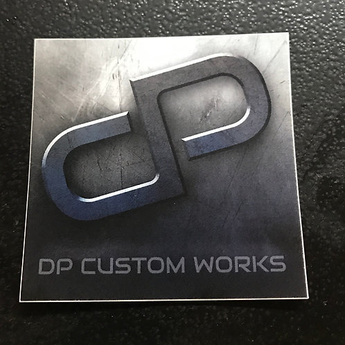 DP Sticker - 3x3