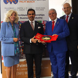 Ambassador of the Kingdom of Bahrain to the United States visits Palm Beach County