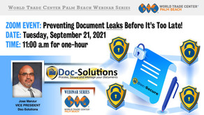 (EVENT) Preventing Document Leaks Before It's To Late