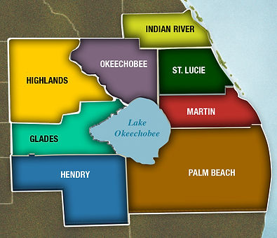 Central-South Florida region