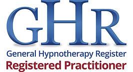 ghr logo (registered practitioner) - CMY