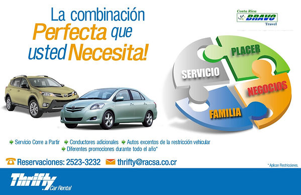 Thrifty Car Rental Costa Rica