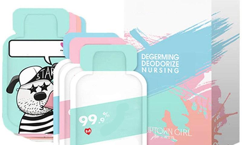 48 Pcs Disposable Gel Hand Sanitizers