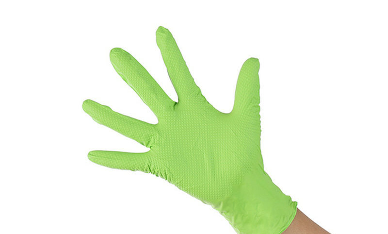 100*Pcs Disposable Rubber Antibacterial Glove