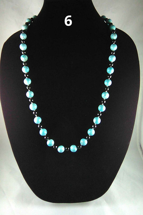 Dyed Howlite, Turquoise