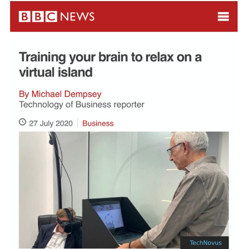 BBC Training your brain to relax