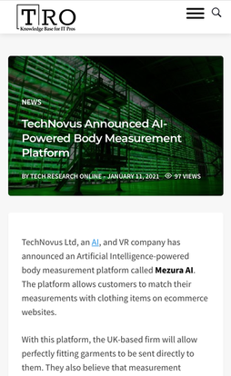AI-Powered Body Measurement Platform