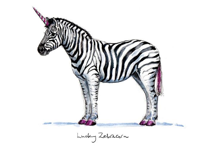Lucky Zebracorn