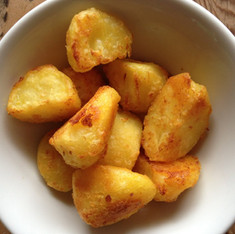 Roast potatoes cooked with Rapeseed oil
